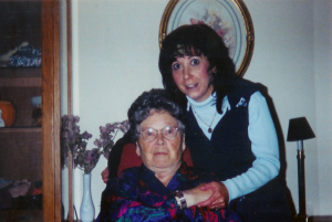 Lisa & her Gram, Mary (Leask) Joyce. Photo courtesy Lisa Chaston.
