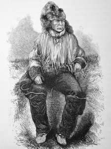 A sketch of chief Klatsassin from his biography.